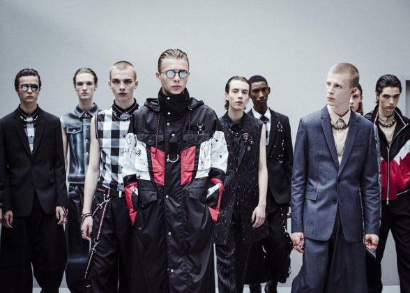 Backstage at Dior Men's Summer 2017 Fashion Show
