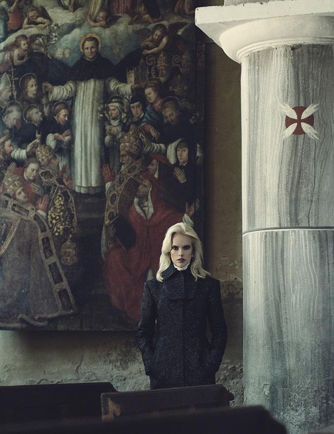 Numéro Russia July 2016 Mia and Nastya by Francesco Vincenti