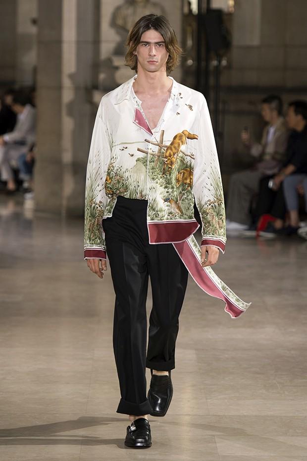 PFW Maison Margiela Spring Summer 2017 Menswear Collection