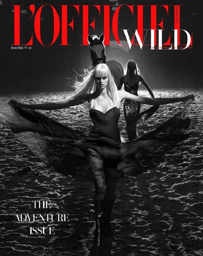 WILD BREED L'OFFICIEL SINGAPORE JUNEJULY 2016 by CHUANDO & FREY cover