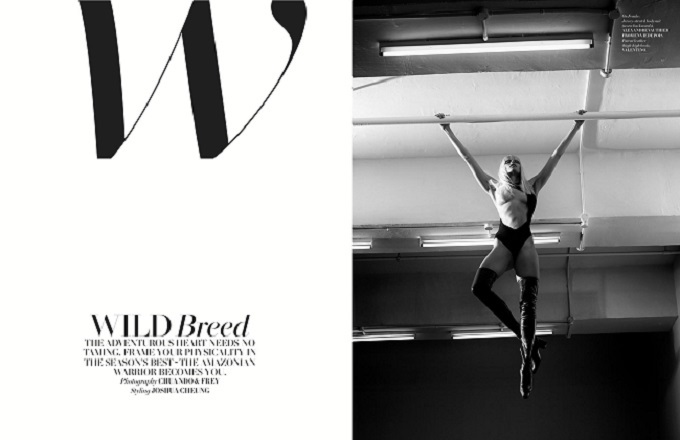 WILD BREED L'OFFICIEL SINGAPORE JUNEJULY 2016 by CHUANDO & FREY