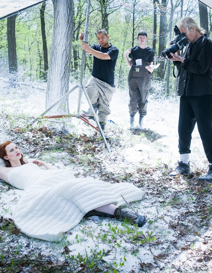 Behind the scenes of Moncler FW 2016-17 Campaign