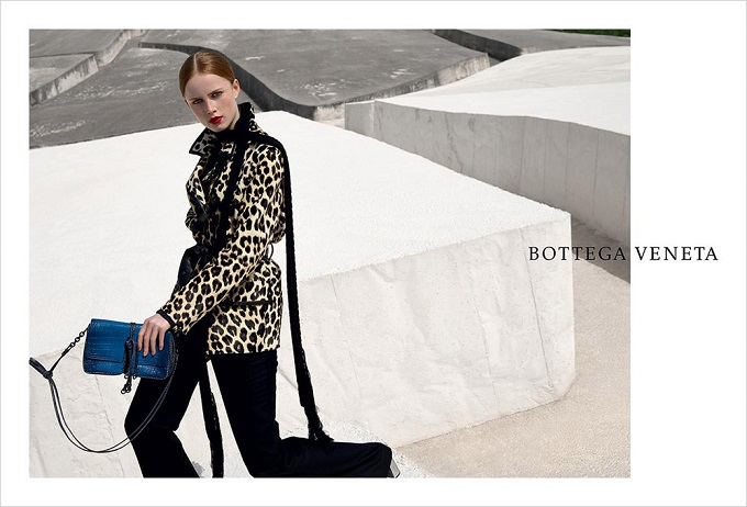 Bottega Veneta's maze-like Fall 2016 Campaign