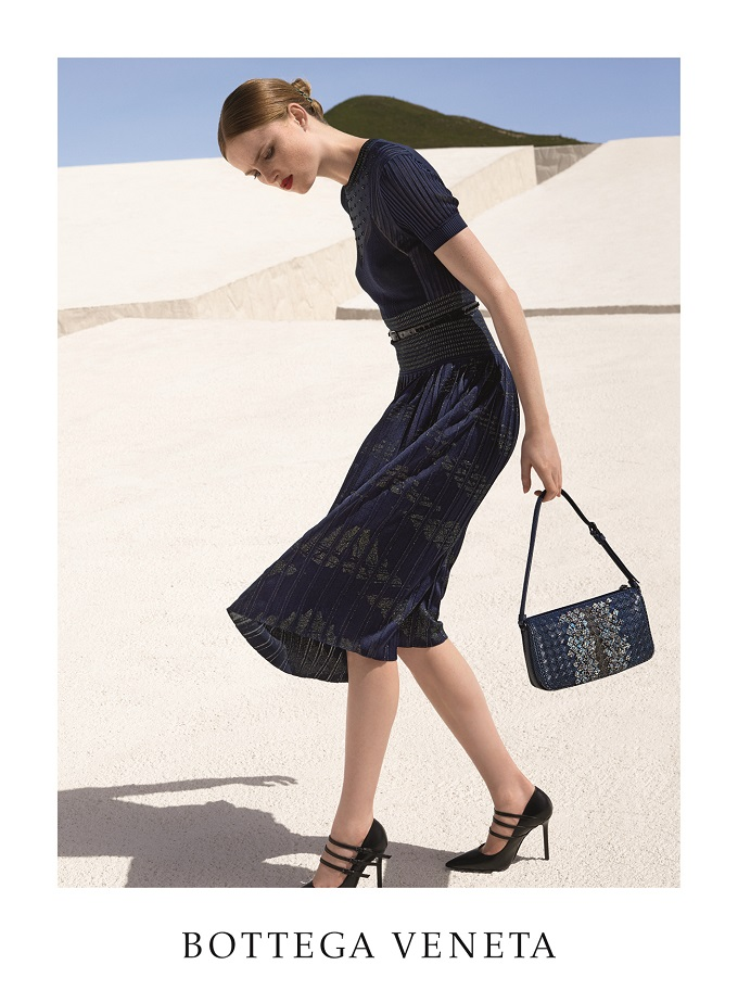Bottega Veneta's maze-like Fall 2016 Campaign