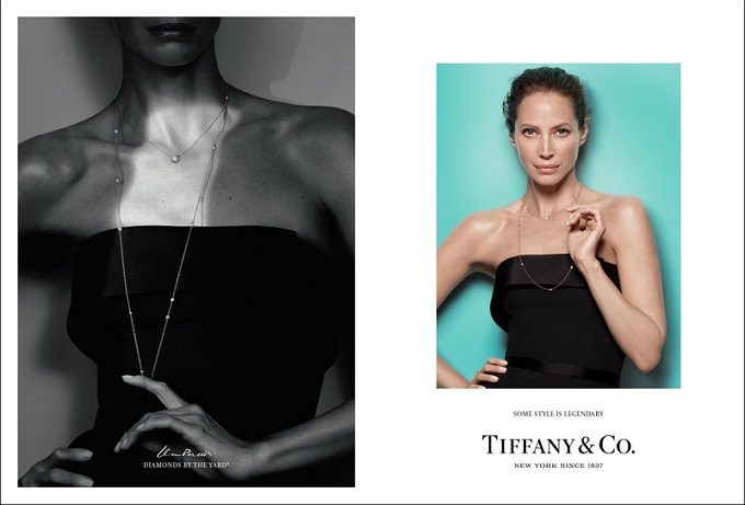 Christy Turlington stars in Tiffany & Co's fall-winter 2016 campaign