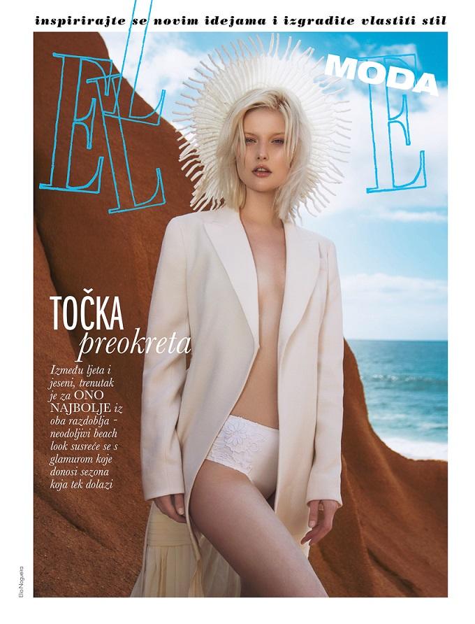 ELLE Croatia August 2016 Anna Emilia by Élio Nogueira