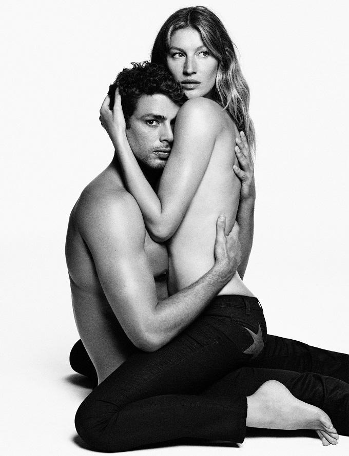 Gisele Bundchen for Givenchy Jeans Campaign