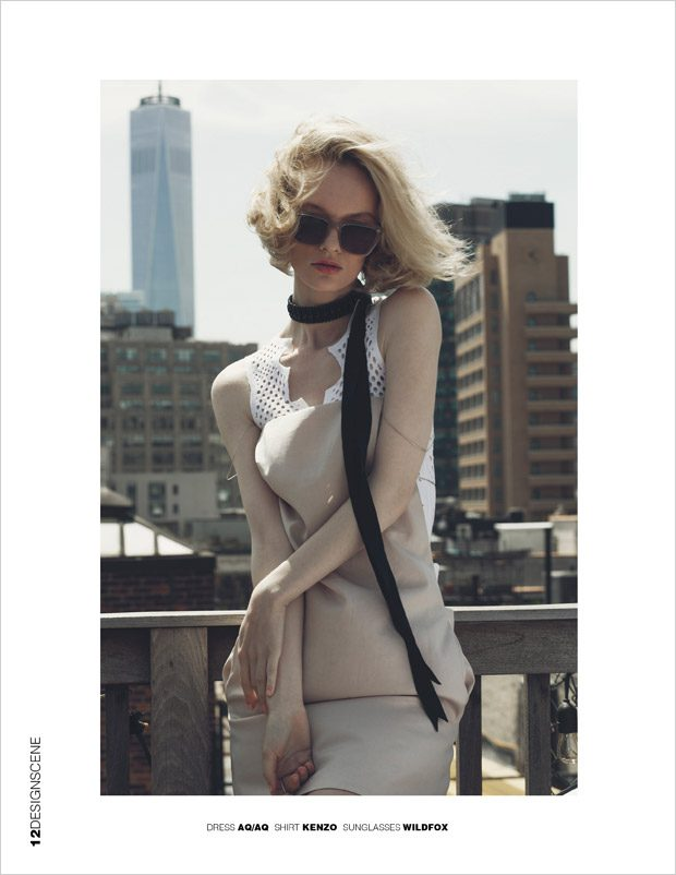 Ida Dyberg by Sinem Yazici for Design SCENE Magazine