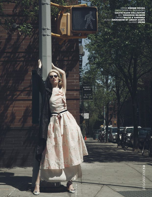 Ida Dyberg by Sinem Yazici for Design SCENE Magazine