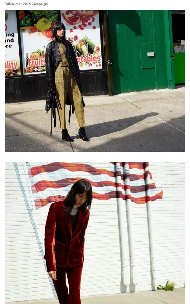 Jamie Bochert for Phillip Lim FallWinter 2016 Campaign