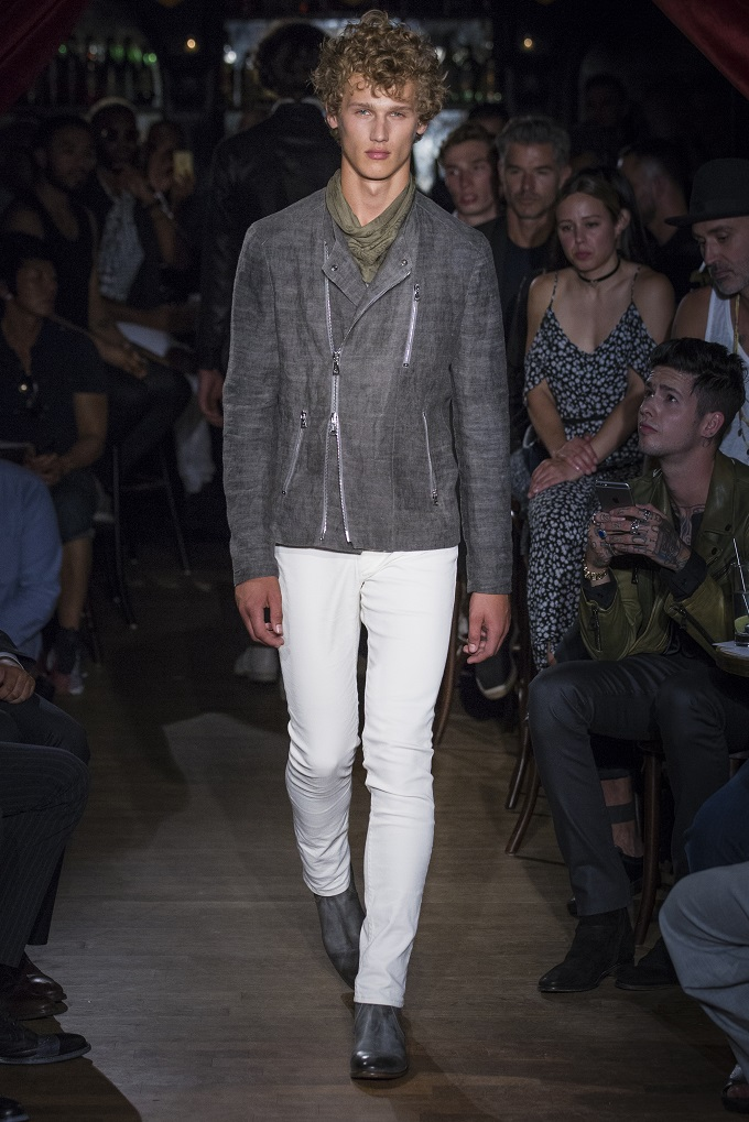 "John Varvatos Menswear ""The Urban Romantic"""