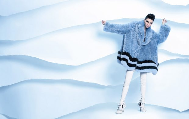 Kendall Jenner for Fendi FW16
