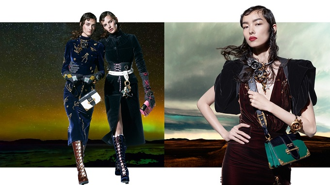 Prada Surrealist Campaign shot by Steven Meisel