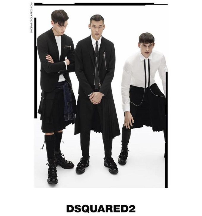 Preview Dsquared2 FW 16.17 Campaign by Mert & Marcus