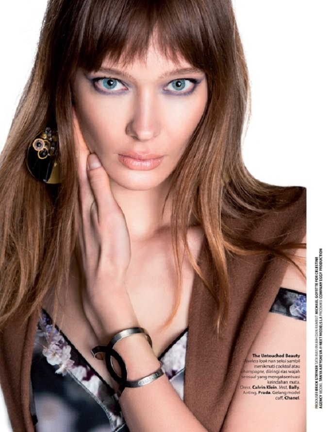 Tanya Katysheva for Female Magazine by Ryan Jerome