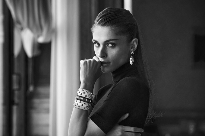 Buccellati A Day with Elisa in Venice visto da Peter Lindbergh