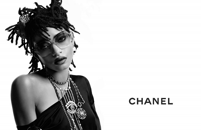 Chanel arruola Willow Smith per la nuova campagna Eyewear