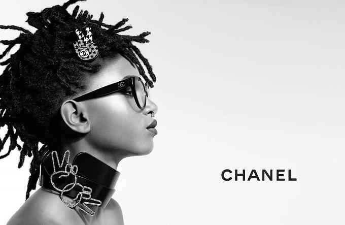 Chanel arruola Willow Smith per la nuova campagna Eyewear