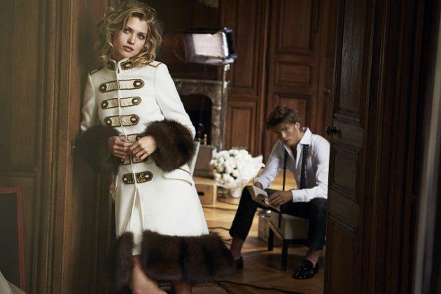 Ermanno Scervino e Peter Lindbergh di nuovo insieme per la campagna pubblicitaria della Maison.