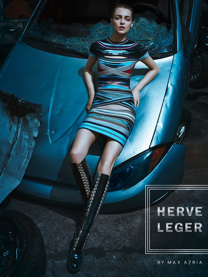 Herve Leger Fall Winter 2016.17 Campaign