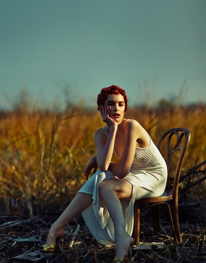 Rhiannon McConnell & Cece Yost for Vogue Brazil by Hao Zeng