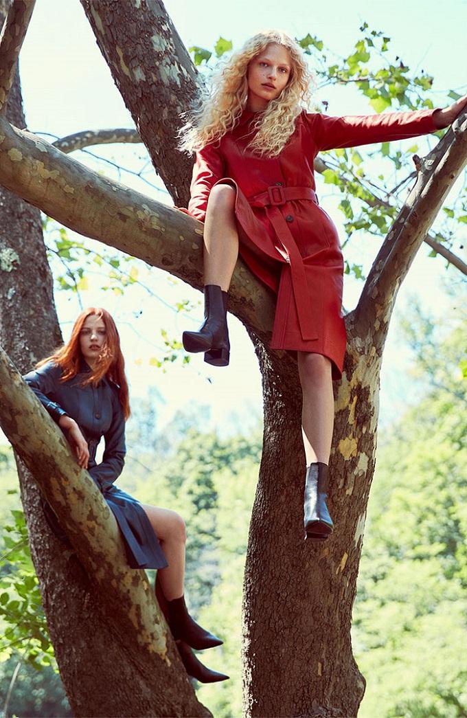 zara womenswear fw16 campaign