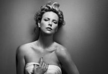 Charlize Theron, New York I, 2008, copyright and courtesy Vincent Peters