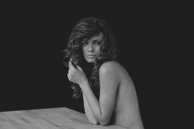 "Andjela Bursac in ""Vague"" by Christine Lipski"
