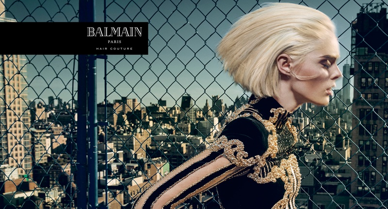 Balmain Hair Couture The Icons Campaign