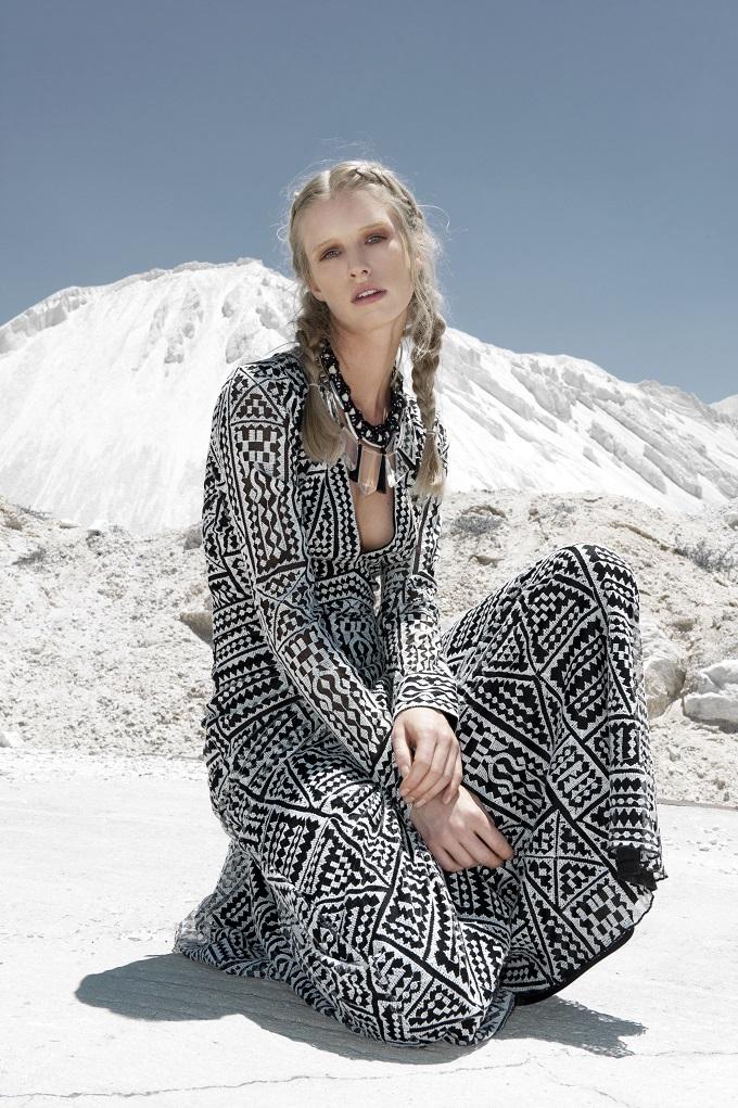 Dream White - Ryan Jerome for September issue of ELLE bulgaria