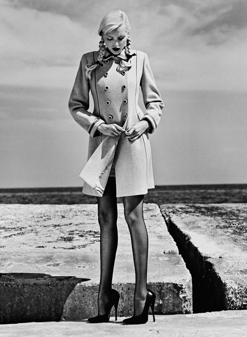 Helmut Newton - Autunno Inverno 1994-95, Monaco 1994 © The Helmut Newton Estate/Maconochie Photography