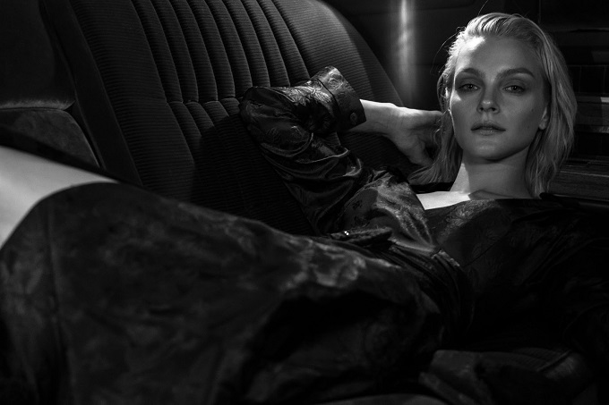 Jessica Stam by Paul McLean for Harper's Bazaar Kazakhstan September 2016