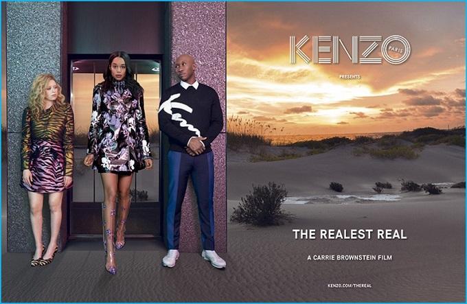 Kenzo 2016 Fall-Winter Campaign