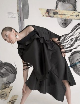 Ryan Tandya For Harper's Bazaar Art Indonesia