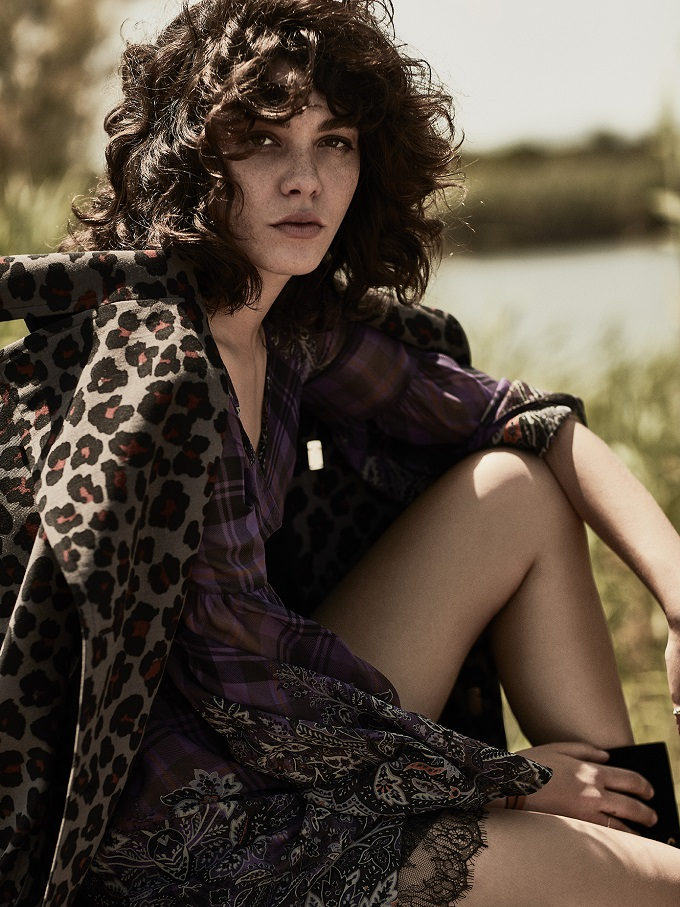 Steffy Argelich photographed by Tomás de la Fuente for TELVA