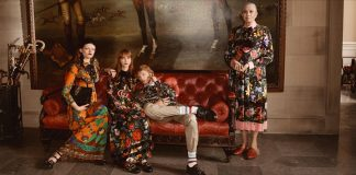 The Gucci cruise 2017 ad campaign. Photo Glen LuchfordGucci