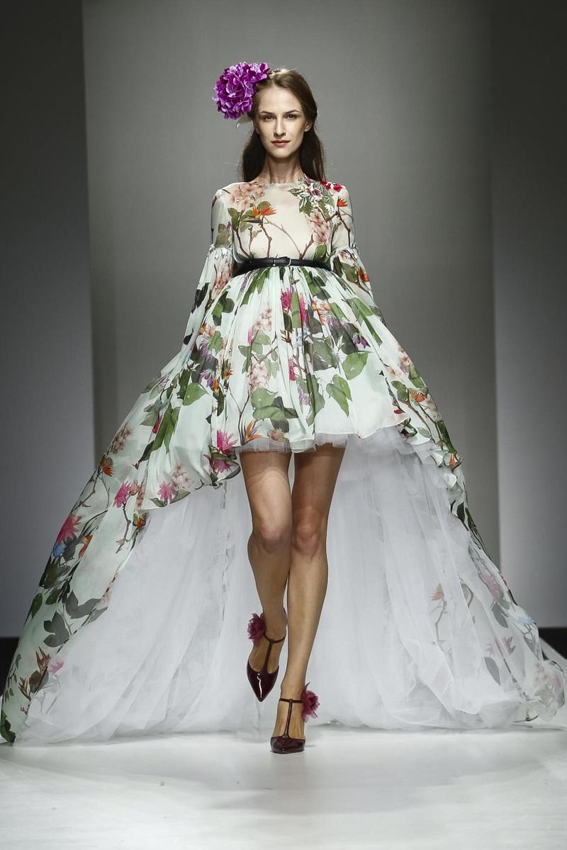 Giada Curti Fashion show, Spring Summer 2017 in Dubai
