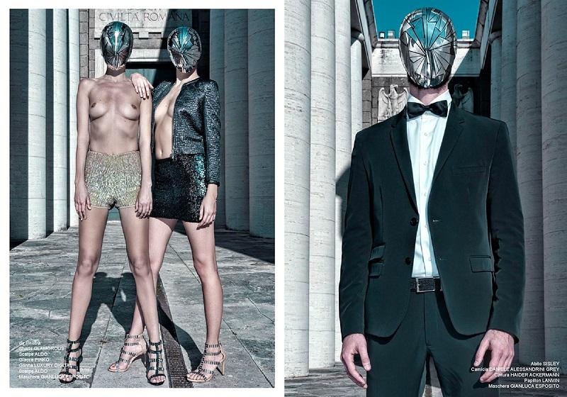 Macchine Umane - Lui Magazine Italia by Domenico Donadio