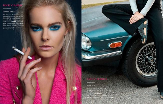 Jess Gold for FV magazine by Ryan Jerome