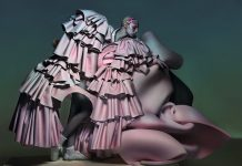 Comme des Garçons Photography by Nick Knight, Styling by Katie Shillingford