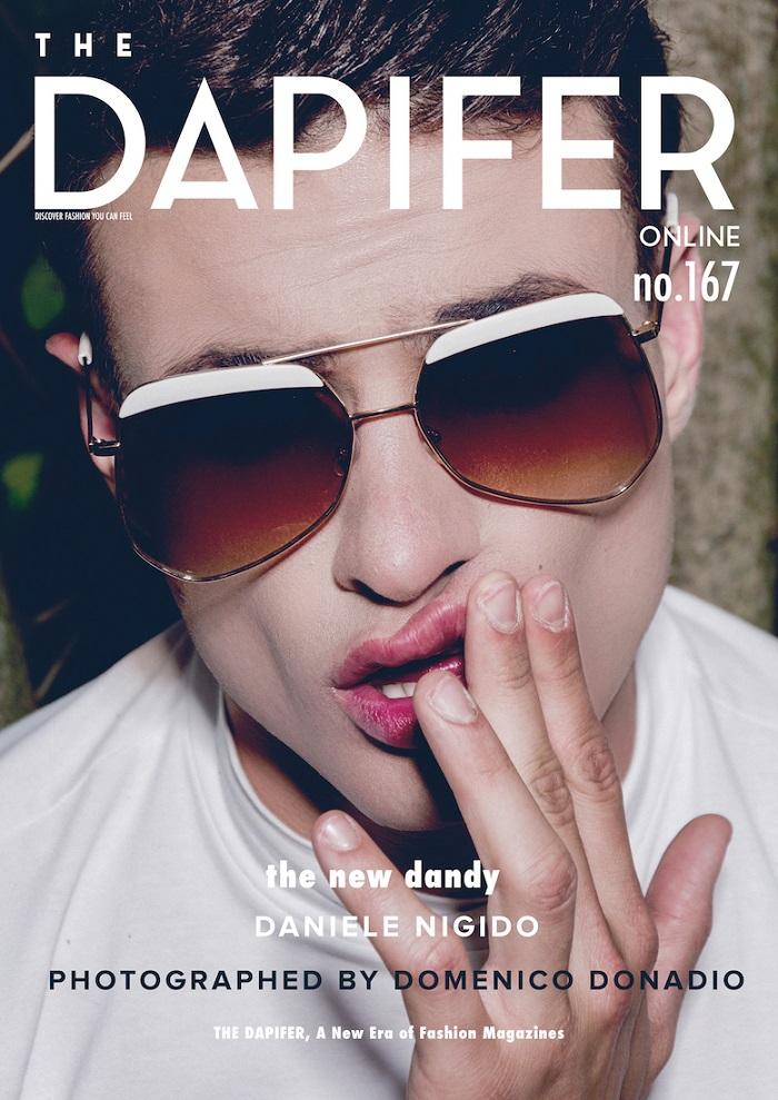 """Daniele Nigido in """"The New Dandy"""" by Domenico Donadio"""