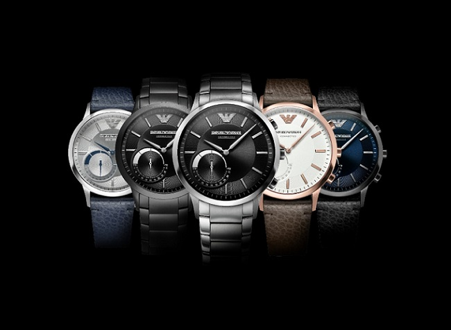 Emporio Armani Connected Hybrid Smartwatch Collection