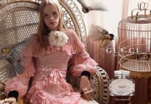 Polina Oganicheva for Gucci Bamboo
