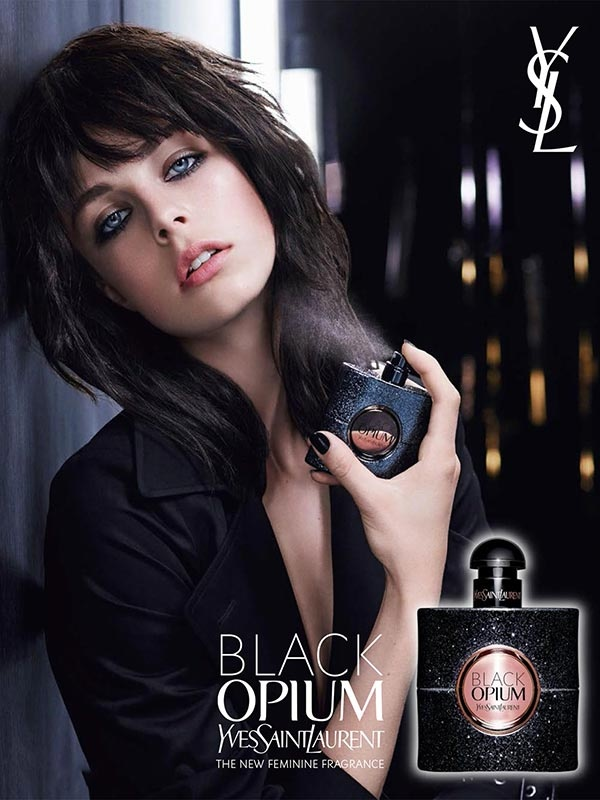 Black Opium by YSL Beauty Campaign