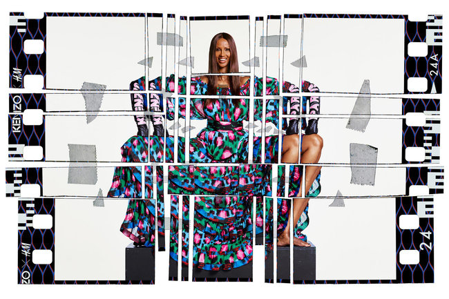 Kenzo x H&M Campaign by Jean-Paul Goude