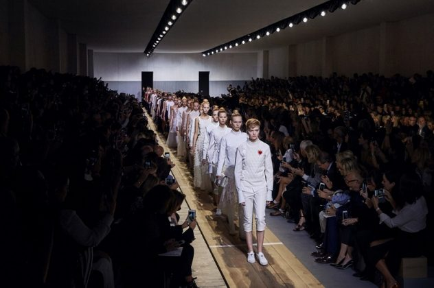 Dior Fashion Show Ready-to-wear Collection Spring Summer 2017 Paris by Maria Grazia Chiuri