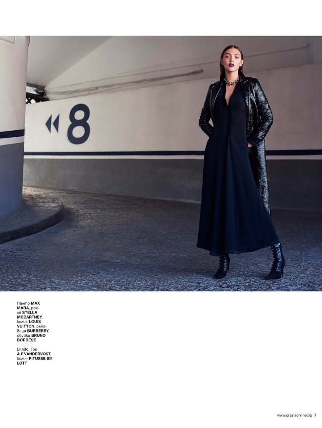Black is Back – Vladimir Marti for Grazia Magazine Bulgaria