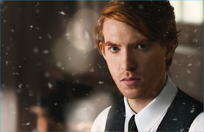 Domhnall Gleeson steps into the role of Thomas Burberry for the English fashion house's striking new film.