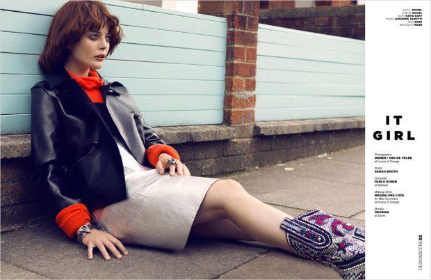 Georgia Chambers lensed by photography duo DOMEN / VAN DE VELDE