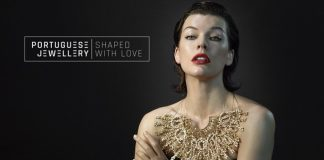 Milla Jovovich is the protagonist of the Portuguese Jewellery International Campaign